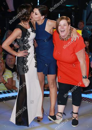 Stock Image of Edele Lynch, Emma Willis, Dee Kelly