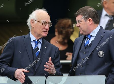 Chelsea Chairman Bruce Buck left with Chief Excutive Ron Gourlay