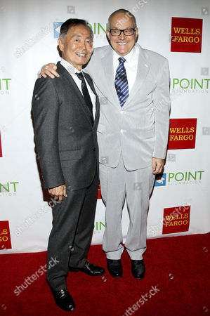 George Takei and spouse Brad Altman