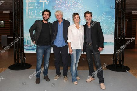 'Spiral' photocall - Guest, Philippe Duclos, Caroline Proust and Fred Bianconi