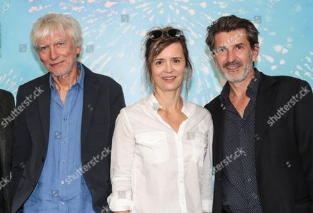 'Spiral' photocall - Philippe Duclos, Caroline Proust and Fred Bianconi