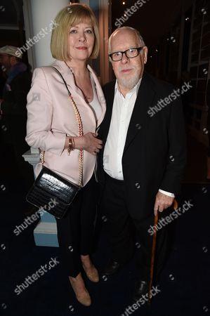 Chrissy Blake and Sir Peter Blake