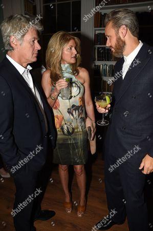 Frances Avery Agnelli and John Freida with Alasdhair Willis