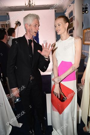 Richard Buckley and model