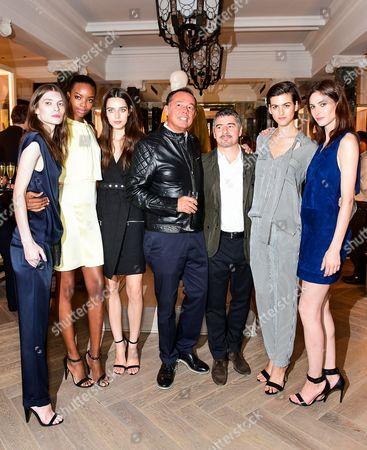 Editorial photo of Belstaff Show, Spring Summer 2015, London Fashion Week, Britain - 14 Sep 2014
