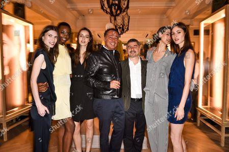 Editorial image of Belstaff Show, Spring Summer 2015, London Fashion Week, Britain - 14 Sep 2014