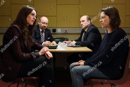 Suranne Jones, Tony Mooney and Nicola Walker