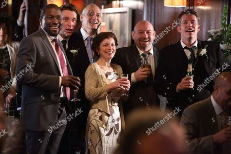 Delroy Brown, Ben Batt, David Prosho, Tony Mooney and Sean Maguire