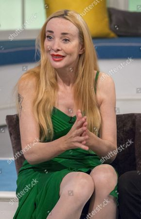 Editorial image of 'Lorraine Live' TV Programme, London, Britain. - 15 Sep 2014