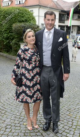 Crown Prince Alexander of Isenburg and his wife Sarah