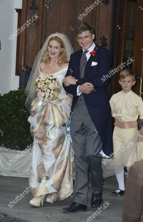 Princess Maria Theresia von Thurn und Taxis and her husband Hugo Wilson