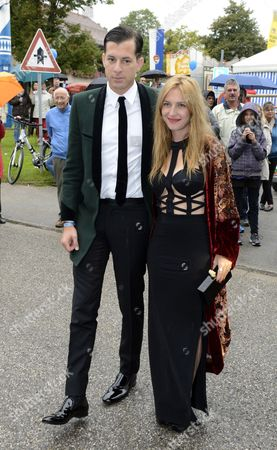 Mark Ronson and wife Josephine De La Baume