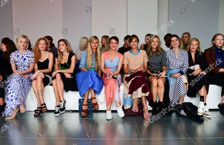 Portia Freeman, Clara Paget, Chelsea Leyland, Helen McCrory, Yasmin Le Bon, Kim Hersov, Lara Bohinc, Kate Foley and Jade Parfitt