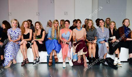Portia Freeman, Clara Paget, Chelsea Leyland, Helen McCrory, Yasmin Le Bon, Kim Hersov Lara Bohinc, Kate Foley, Jade Parfitt