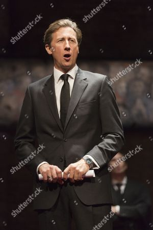 Nicholas Rowe as Mr Stevens, the Leader of the Opposition