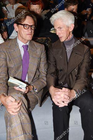 Hamish Bowles and Richard Buckley