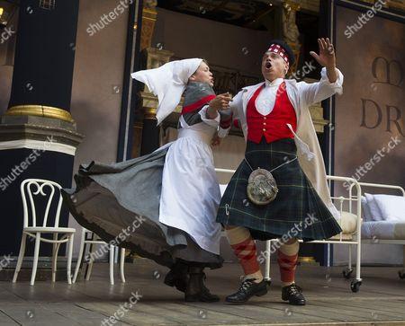 Rhiannon Oliver as Catherine, James Garnon as Scroggy,