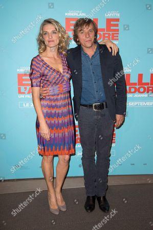 Olivia Cote and Pascal Demolon