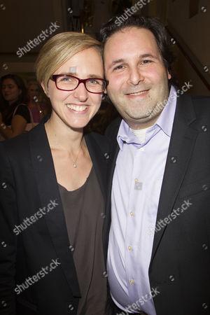 Tamara Harvey and David Babani (Artistic Director)