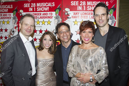 Damian Humbley (Cast), Christina Bianco (Cast), Joel Fram (Musical Director), Anne-Jane Casey (Cast) and Ben Lewis (Cast)
