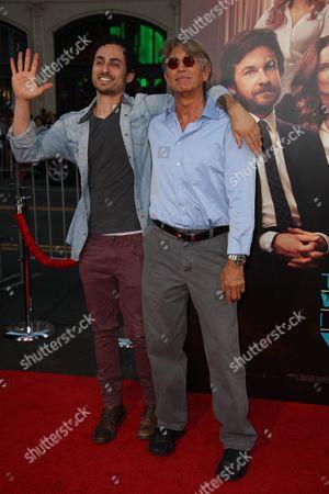 Eric Roberts and stepson Keaton Simons