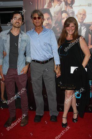 Eric Roberts WIfe Eliza Roberts and stepson Keaton Simons
