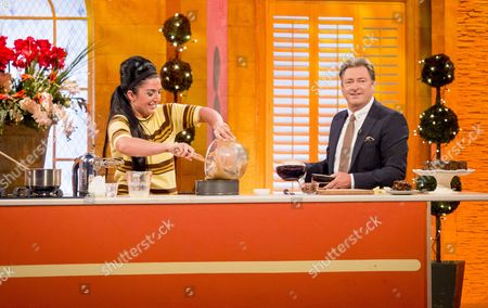 Stacie Stewart and Alan Titchmarsh