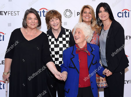 Mindy Cohn, Geri Jewell, Charlotte Rae, Lisa Whelchel and Nancy Mc