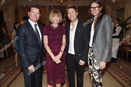 Matthew Barzun, Anna Wintour, Christopher Bailey and Jenna Lyons