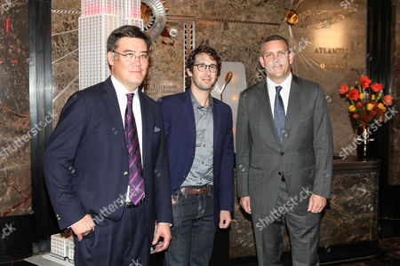 Alan Gilbert, Josh Groban, Matthew Van Besien