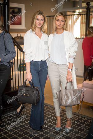 Lauren Remington Platt and Carolina Mentasti Granelli