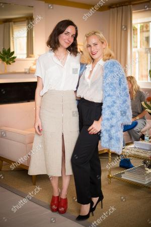 Serafina Sama and Charlotte Dellal