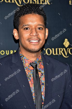 Editorial image of 'Courvoisier's Exceptional Journey Campaign' launch, New York, America - 16 Sep 2014