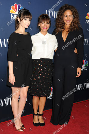 Cristin Milioti, Rashida Jones and Lenora Crichlow