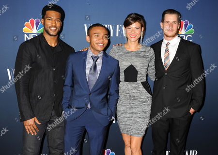 Stock Photo of JR Lemon, Robert Bailey Jr, Jeananne Goossen, Brendan Fehr
