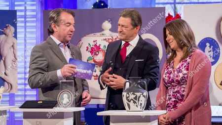 Stock Image of Eric Knowles, Alan Titchmarsh and Alison Wedgewood