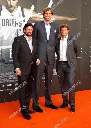 Stock Picture of Sebastian Dehnhardt, Dirk Nowitzki, Leopold Hoesch