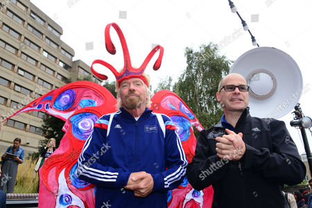 Editorial photo of Virgin London Marathon fundraising photocall at The Tower Hotel, London, Britain - 17 Sep 2014