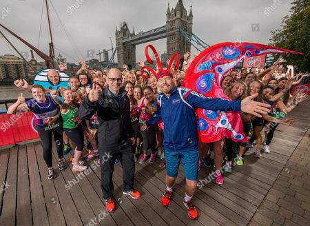 Editorial image of Virgin London Marathon fundraising photocall at The Tower Hotel, London, Britain - 17 Sep 2014