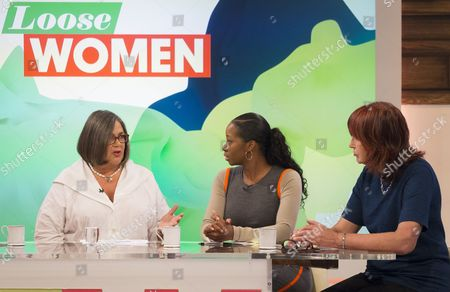 Editorial photo of 'Loose Women' TV Programme, London, Britain. - 17 Sep 2014