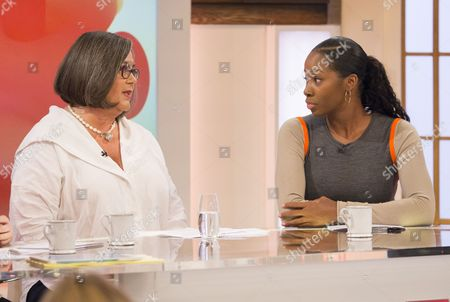 Stock Picture of Sandra Horley and Jamelia
