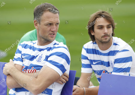 Editorial picture of Barclays Premier League 2014/15 QPR 2014/15 Official Team Photo & Player Portraits Harlington Training Ground, London, United Kingdom - 17 Sep 2014