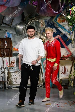 Stock Picture of Edward Meadham and Benjamin Kirchhoff