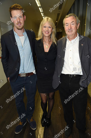 Guest, Annette Lynton and Nick Mason