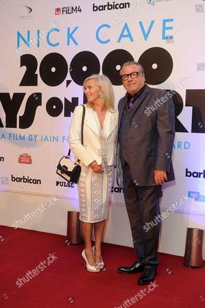 Ray Winstone and wife Elaine Winstone