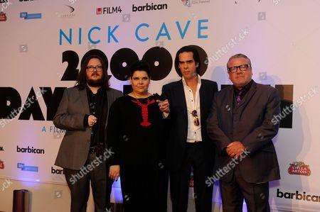 Iain Forsyth, Jane Pollard, Nick Cave and Ray Winstone