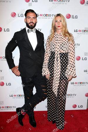 Stock Picture of Lorenzo Martone and Jules Kim