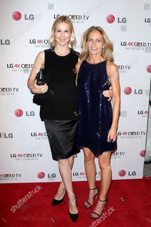 Kelly Rutherford and Liz Hopfan