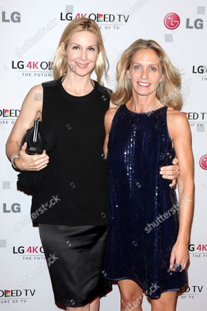 Stock Picture of Kelly Rutherford and Liz Hopfan