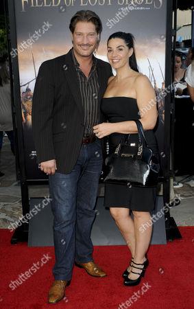 Sean Kanan and wife Michelle Vega